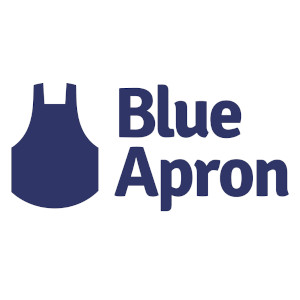 Blue Apron meal delivery service logo
